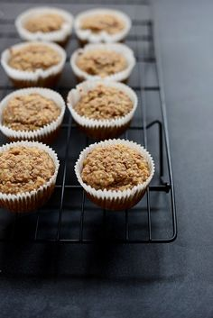 Banana Almond Meal Muffins (Gluten Free Vegan Optional) these are delish and easy! Nice to have a yummy vegan gf option to share with those who need it or simply because they are delish! Vegan Banana Muffins, Gluten Free Banana, Gluten Free Muffins, Gluten Free Sweets, Vegan Gluten Free, Gluten Free Recipes, Vegan Recipes, Almond Muffins, Protein Recipes