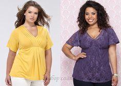 Блузки для женьщин с большой грудью 27