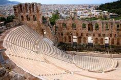 Odéon d'Hérode Atticus à Athènes Plus