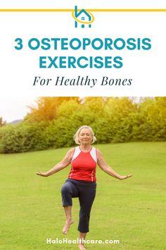 Yoga For Osteoporosis, Osteoporosis Exercises, Back Pain Exercises, Balance Exercises, Yoga For Seniors, Good Back Workouts, Weight Bearing Exercises, Senior Fitness, Fitness Tips