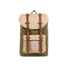 Herschel Bag Little America Mid Volume Rucksack 28x45x12 (BxHxT) Army Khaki