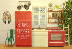 My Sims 4 Blog: Fitting Fridges by Nyola