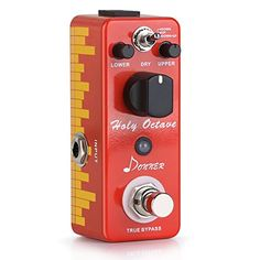 Donner Holy Octave #effects #pedal #octaver