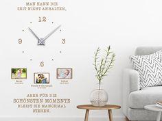 Wandtattoo Uhr Für die schönsten Momente im Wohnzimmer