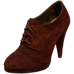 Want some oxford heels so bad! Oxford Brogues, Oxford Heels, Desire Clothing, Brown Oxfords, Beauty Women, Designer Shoes, Me Too Shoes, Fashion Shoes, High Heels