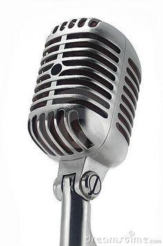 Afbeeldingsresultaat voor old microphone drawing