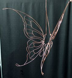Delicate Steampunk Fairy costume wings. $75.00, via Etsy.