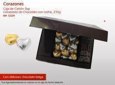 ¡Corazones de chocolate para su amor! ¡No pierda el tiempo y sorpresa!