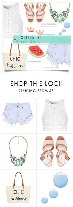 """""""Thank You for 10,000+ followers!!!"""" by fantasticbabe ❤ liked on Polyvore featuring One Teaspoon, Glamorous, Chloe + Isabel, Miu Miu, Straw Studios, Topshop and Hedi Slimane"""