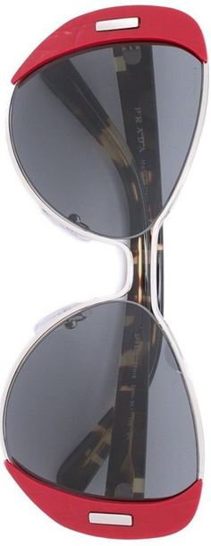 PRADA EYEWEAR  oversized sunglasses