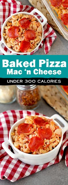 Forget preparing multiple dishes for a family dinner... All you need is the right casserole! We've got a slew of healthy recipes that kids will love, including our brand-new Baked Pizza Mac 'n Cheese. 1/4th of recipe: 278 calories | 10g fat | 8 Weight Watchers SmartPoints | PIN!