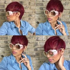14 Short And Sassy Hair Cuts We Are Loving This Week [Gallery]  Read the article here - http://www.blackhairinformation.com/general-articles/playlists/14-short-and-sassy-hair-cuts-we-are-loving-this-week-gallery/
