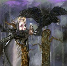 [Fantasy art] Merglenn's Rooks by merglenn at Epilogue