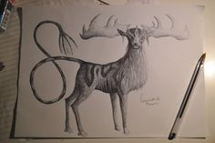 Some wild deer spirit I see in my dreams