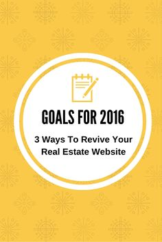 3 Ways To Revive Your Real Estate Website In The New Year