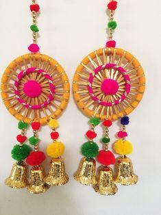 Diwali Decorations At Home, Indian Wedding Decorations, Festival Decorations, Flower Decorations, Diy Crafts For Home Decor, Crafts To Make, Diwali Craft, Diwali Diya, Bollywood Theme Party