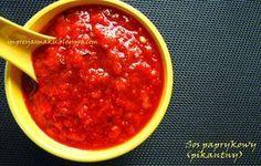 Impresja smaku...: Pikantny sos paprykowy Lonii (w słoikach na zimę - do mięs, pizzy, kanapek)