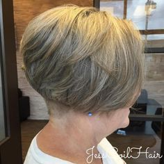 50+ Bob With Nape Undercut Over 60 Hairstyles, Undercut Hairstyles Women, Bob Haircuts For Women, Haircut For Older Women, Short Bob Haircuts, Short Hair Cuts For Women, Short Hairstyles For Women, Straight Hairstyles, Short Hair Styles