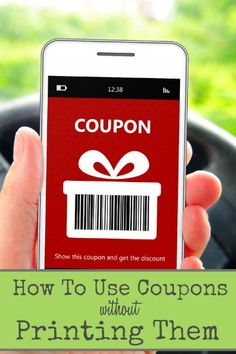 You may not realize it, but there are coupons you can use right from your phone!  No printing and clipping, and you can still save on your shopping and even dining out!  Find out HOW to do this by clicking on over!