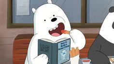 we bare bears // ice bear Ice Bear We Bare Bears, 3 Bears, Cute Bears, Bear Cartoon, Cartoon Pics, Cute Cartoon, Bear Wallpaper, Disney Wallpaper, We Bare Bears Wallpapers