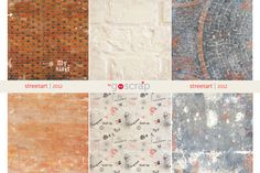 streetart collection #scrapbooking papers