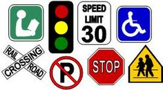 Printable Road and Construction signs to add around place