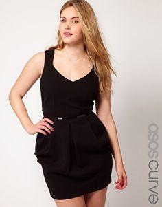 ASOS CURVE Exclusive Tulip Dress
