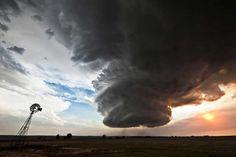 9. La tormenta supercelda