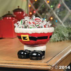 Santa+Feet+Bowl+-+TerrysVillage.com