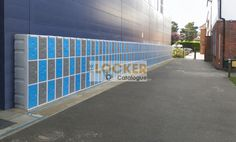Plastic lockers installed outside, we have some of the best prices in the UK, please give us a call for a competitive quotation. Locker Supplies, Plastic Lockers, Storage Design, About Uk, Quotations, Catalog, Brochures, Quotes, Quote