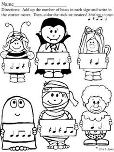 Music Lesson Plans, Music Lessons, Piano Lessons, Halloween Music, Halloween Themes, Music Education Activities, Movement Activities, Physical Education, General Music Classroom
