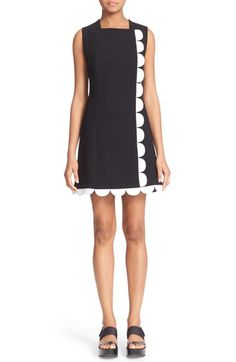 Victoria, Victoria Beckham Scallop Trim Dress available at #Nordstrom
