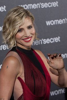 "Elsa Pataky at the premiere of her new short film ""Dark Seduction"" for Women'Secret on November 5, 2014 in Madrid."