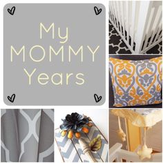 My Mommy Years: Introduction & Launch!