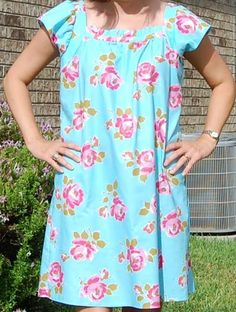 Sew Pretty Dresses: DANA top/dress pattern by sisboom