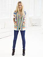 Calypso Cardigan Pattern : Lion Brand Yarn Company