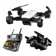 X185 Faltbar Drohne mit WiFi FPV Kamera GPS Brushless RC Quadcopter Drone