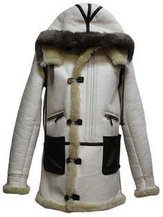 Aeroleather Clothing Type B7 Raw Sheepskin Artic Parka