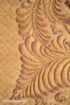 Very good quilter. Wow!