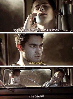 Teen wolf season 1 probably one of my fav episodes More (Get Him To Chase You Funny)