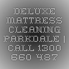 Deluxe Mattress Cleaning Parkdale | Call 1300 660 487