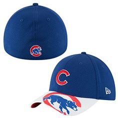 Get this Chicago Cubs Logo Duel Neo Flex Fit Cap at WrigleyvilleSports.com