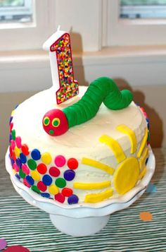 The Very Hungry Caterpillar - 1st Birthday Party