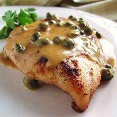 Chicken Breasts in Caper Cream Sauce - Allrecipes.com