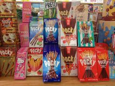 Amazing selection of Pocky!