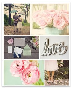 Wedding Inspiration Board by Lemon and Lavender