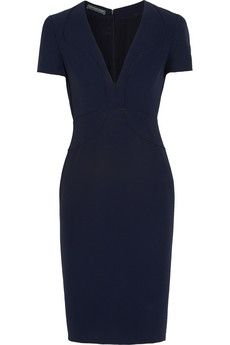 Alexander McQueen - Piped crepe dress. Mode FemmeMode De TravailRobe ... 338a8946432
