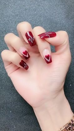 nail art videos * nail art designs + nail art + nail art videos + nail art designs for winter + nail art designs for spring + nail art designs easy + nail art winter + nail art diy Red Nail Art, Purple Nail, Pink Nails, Pastel Nails, Black Nails, Acrylic Nails, Cheetah Nails, Color Nails, Sparkle Nails