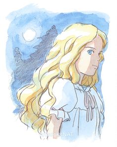 When Marnie was There (思い出のマーニー) Concept art and sketches from the Studio… Film Animation Japonais, When Marnie Was There, The Sweetest Thing Movie, Grave Of The Fireflies, Animation News, Film D'animation, Castle In The Sky, Film Studio, My Neighbor Totoro