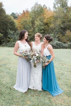 c2da36337d7e 838 Best Bride + Bridesmaids images | Rustic wedding chic, Weddings ...
